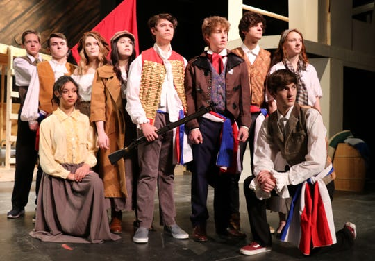 "Dallastown Area High School presents ""Les Miserables,"" April 11-14."
