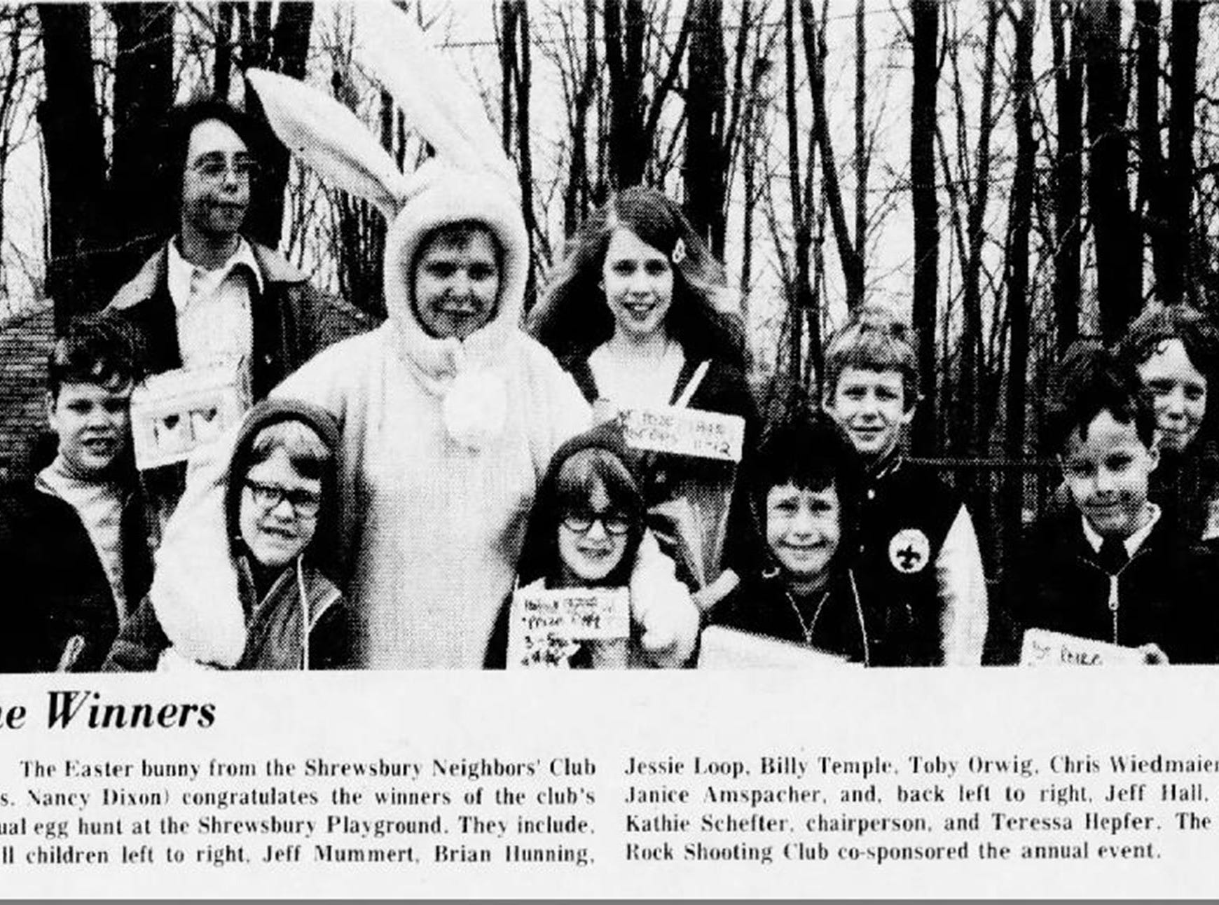 A photo from the York Daily Record from 1975.