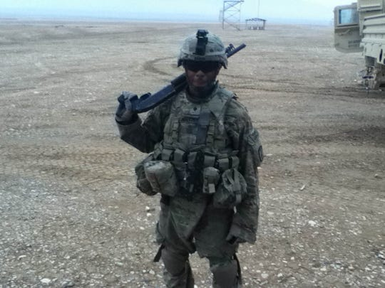 While in the army, Ibraheem Walker made sure to document his adventures.