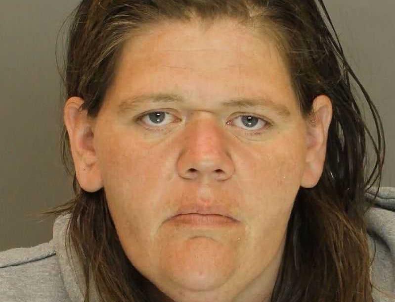 Megan Ruby, arrested for false identification to law enforcement.