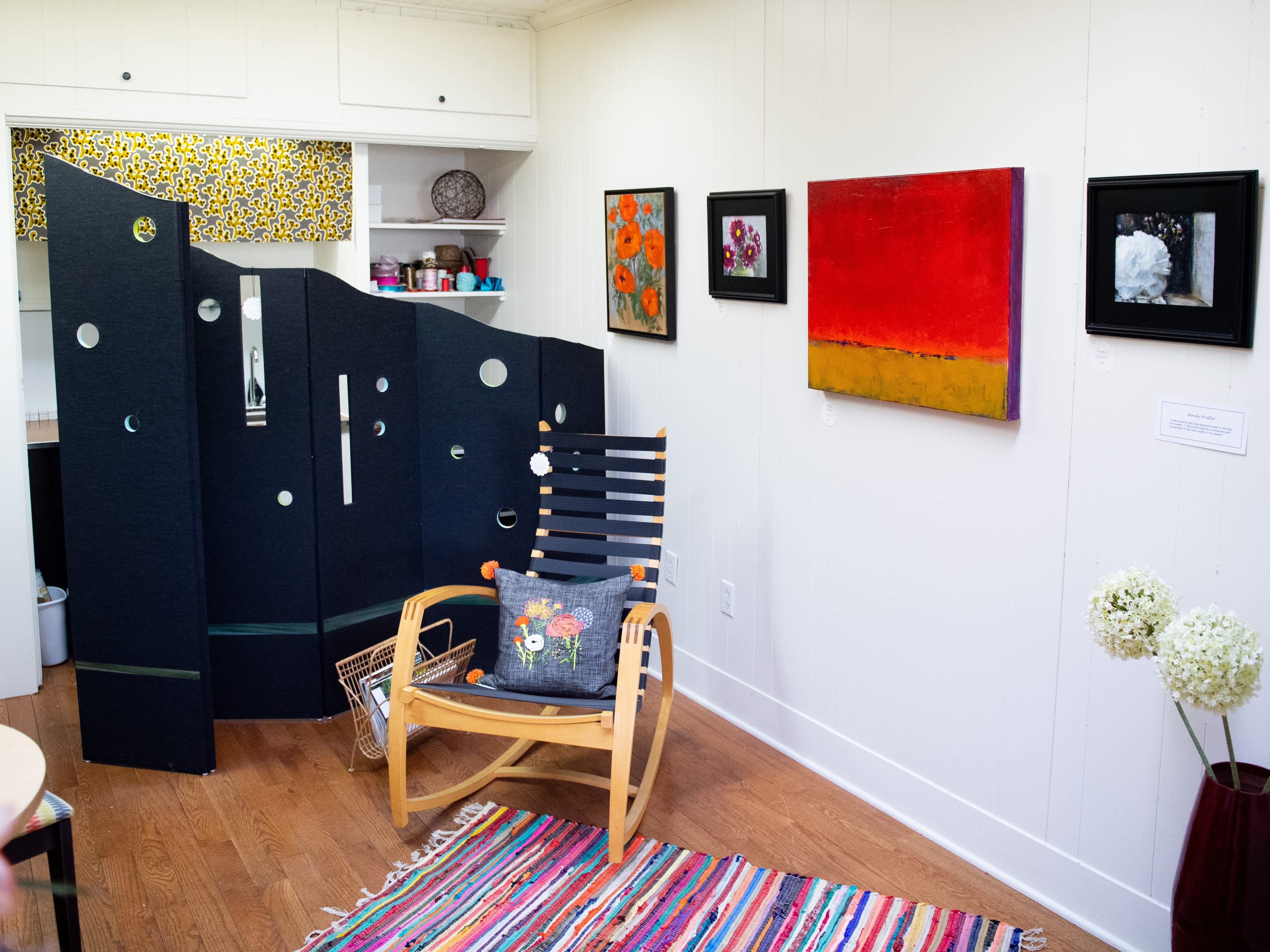 Inside Venture in downtown York. Venture is part of the Parliament Arts Organization in the Royal Square District, April 11, 2019.