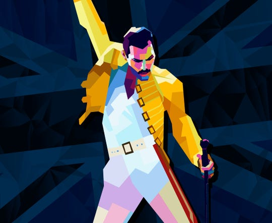 Freddie Mercury's legacy lives on in his music.