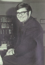 Father Salvatore Ferro, from the 1971 Bishop Kearney High School yearbook