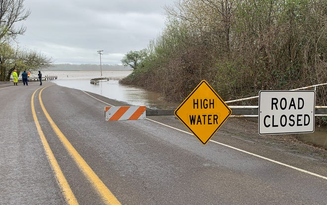 River levels across northwest Oregon are expected to rise, although it's unclear how much flooding may occur right now.