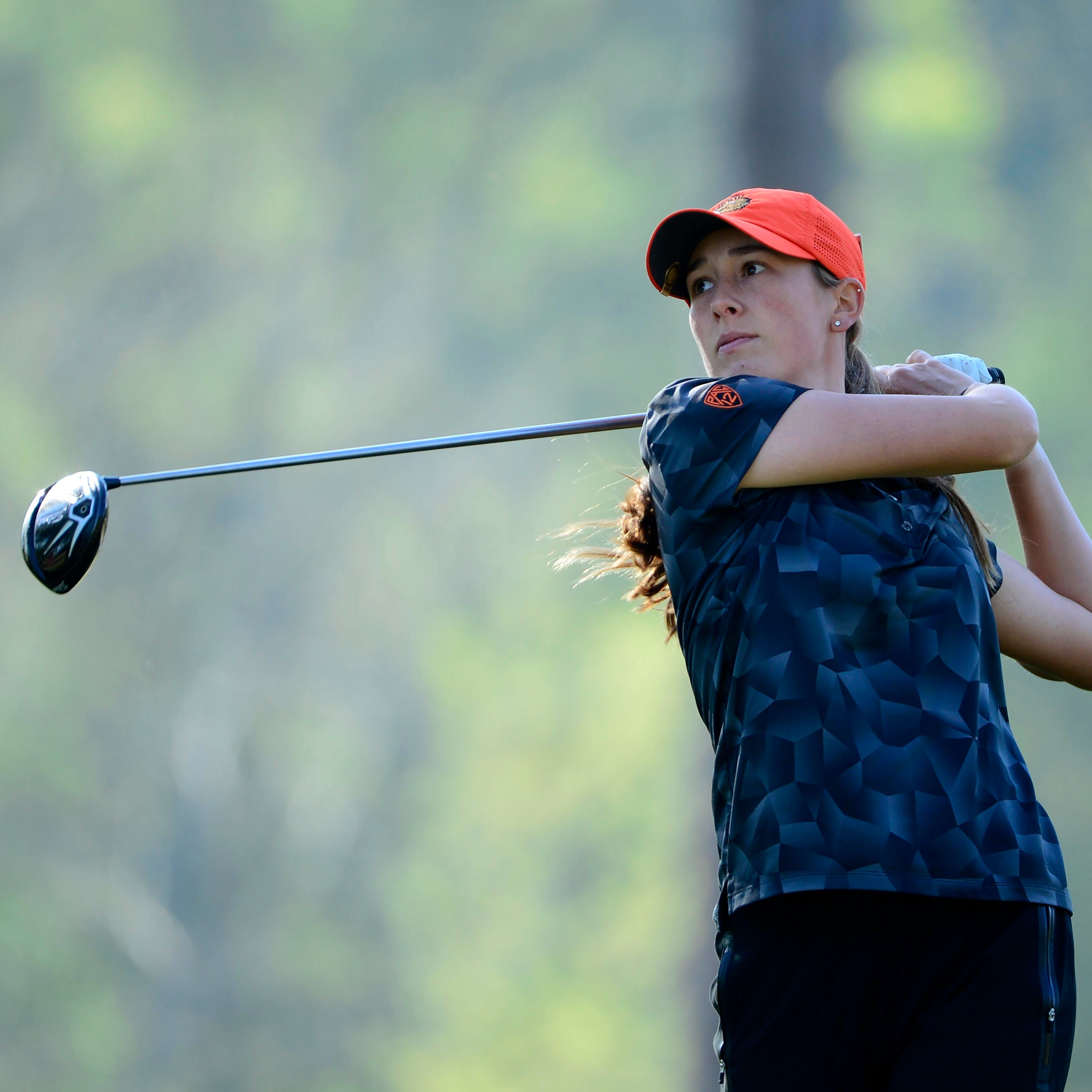 Oregon State sophomore, South Salem graduate Ellie Slama experiences Augusta National