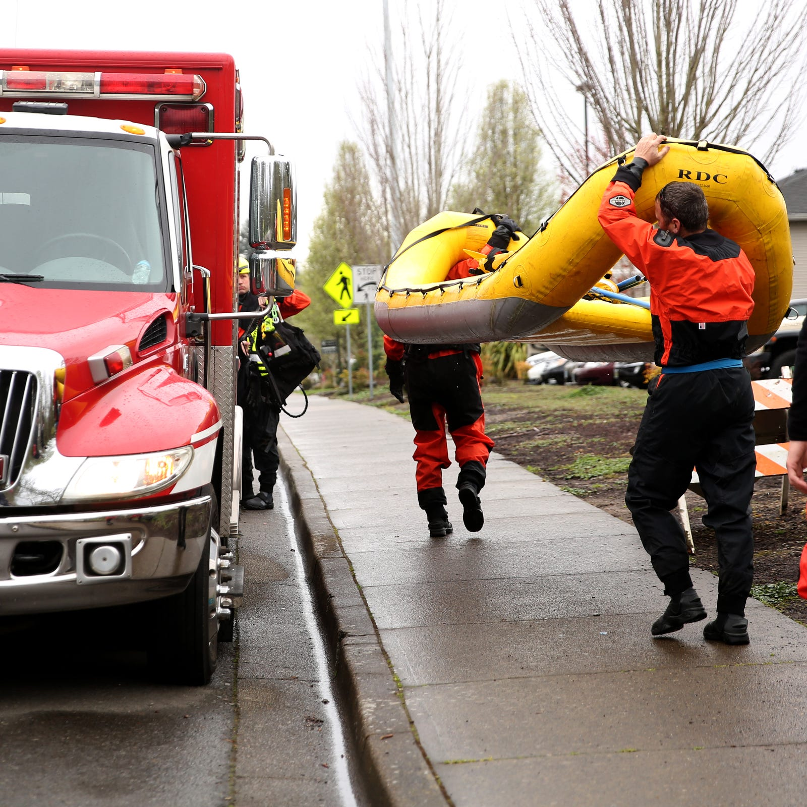 Five rescued from Salem-area homeless camp amid Willamette Valley flooding