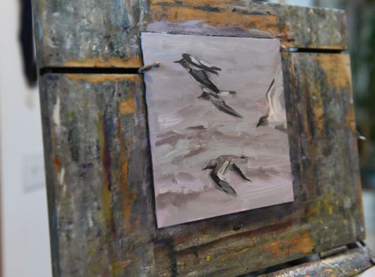 Nancy Richards West will have her artwork on sale at the Chincoteague 40th Easter Decoy and Art Festival on April 19-20.