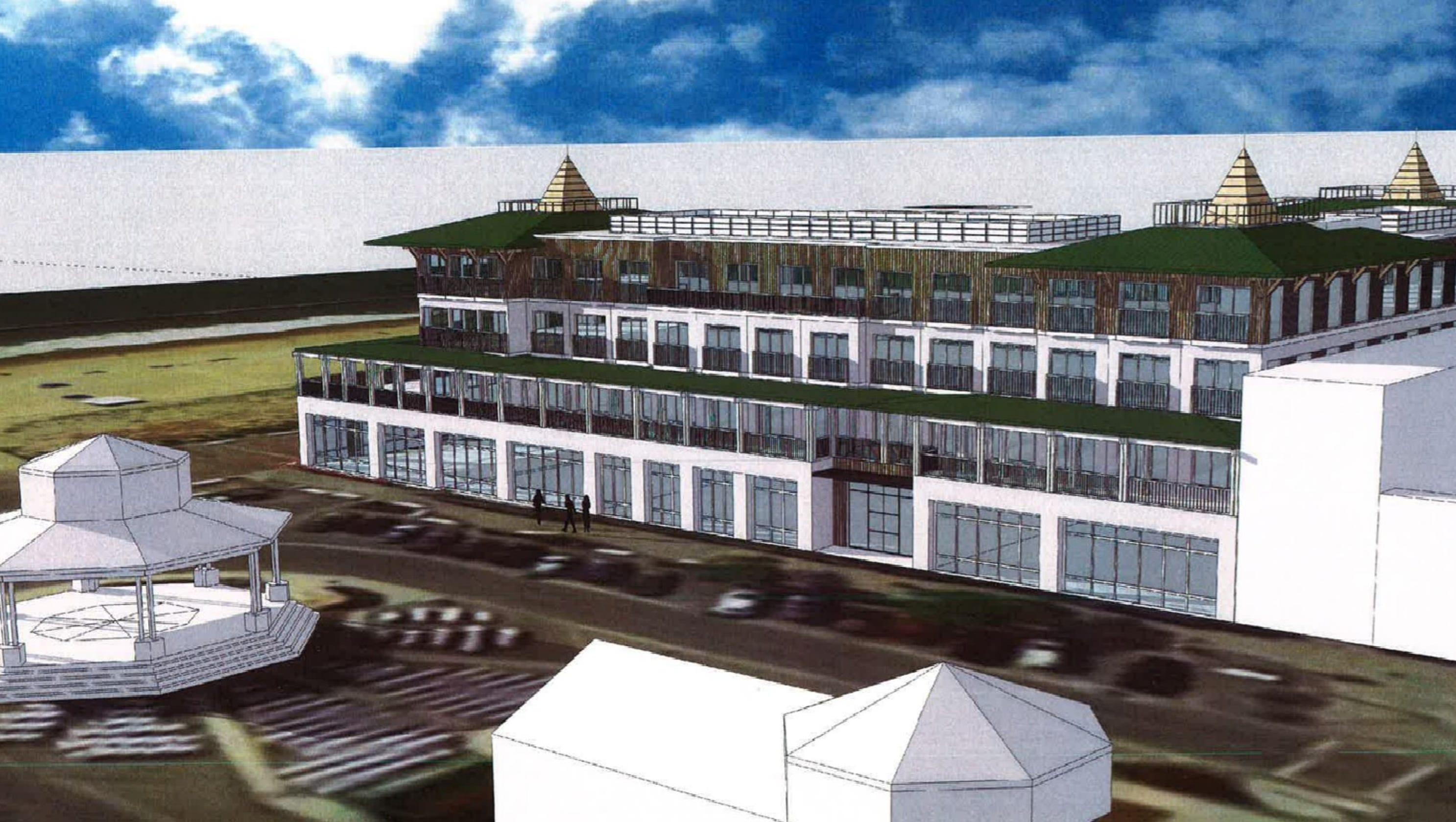 Rehoboth Avenue Hotel Proposed On Boardwalk