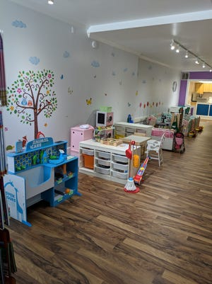 Mini Mocha Play Cafe offers kiddos in the area a fun new space where their parents can relax in the background.