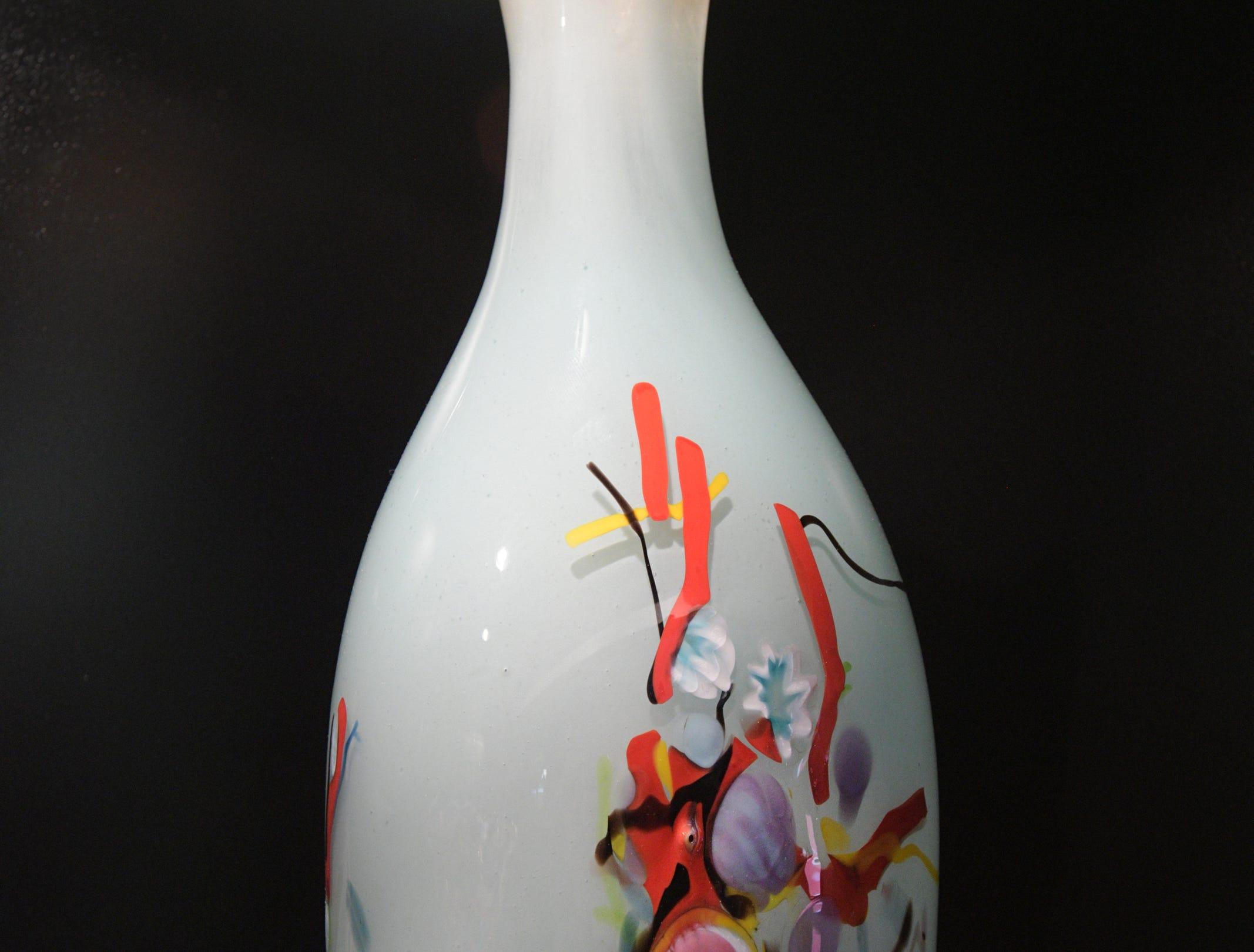 Glass Art created at Sanctuary Glass Studio.
