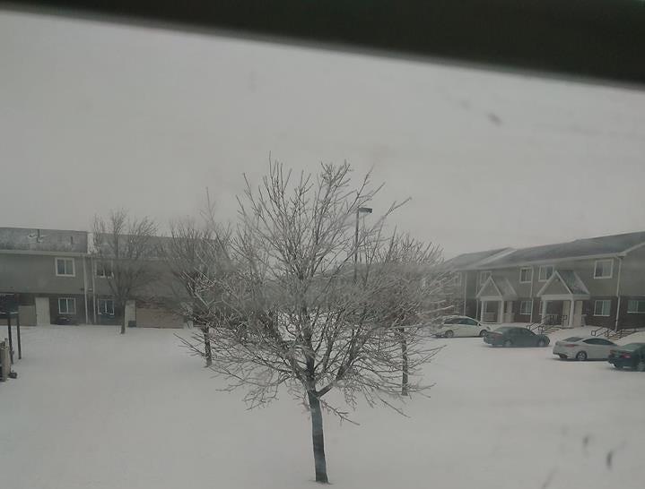 Sioux Falls on Thursday morning.