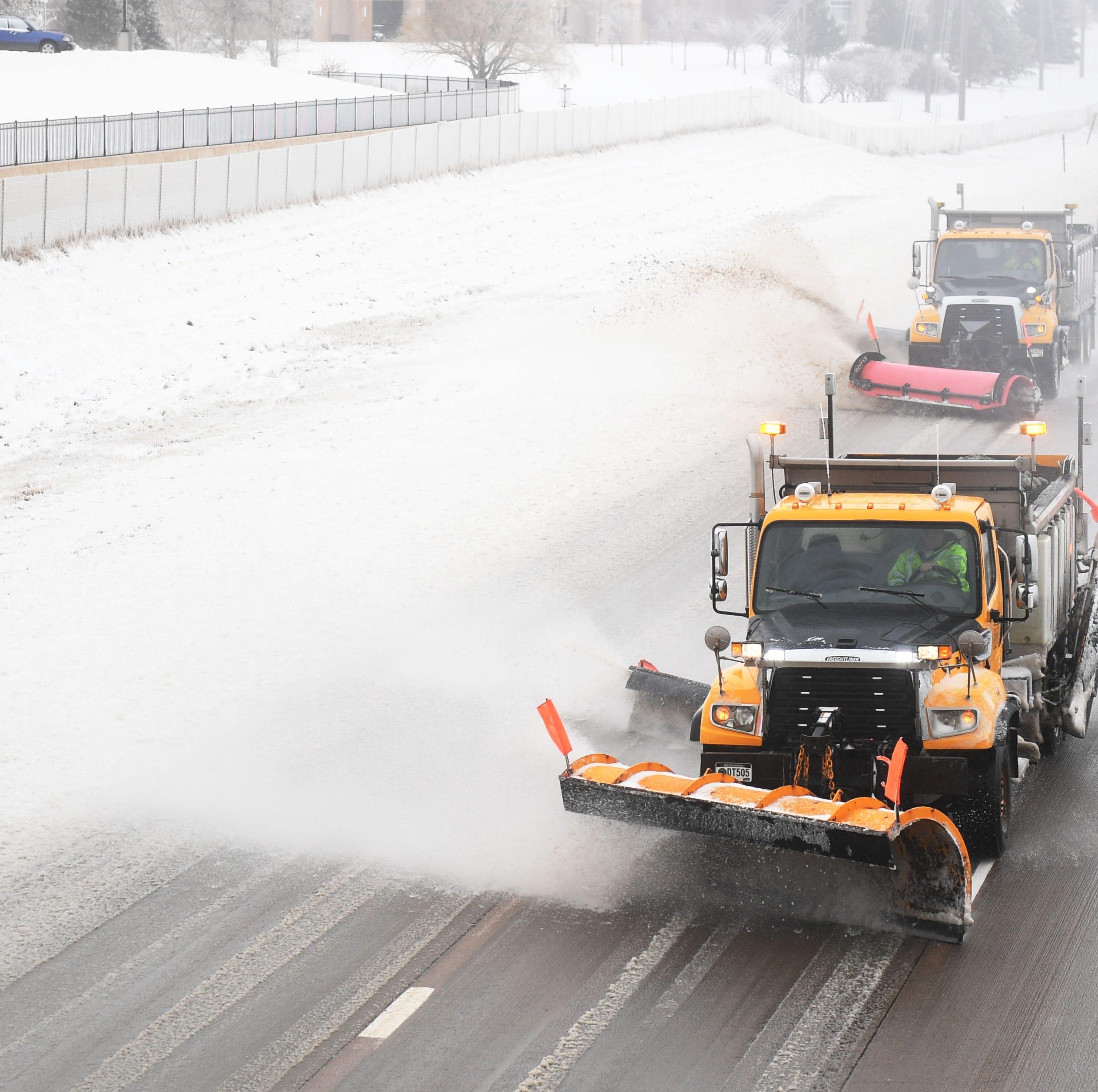 Interstate 90, Interstate 29 closed to Sioux Falls in South Dakota