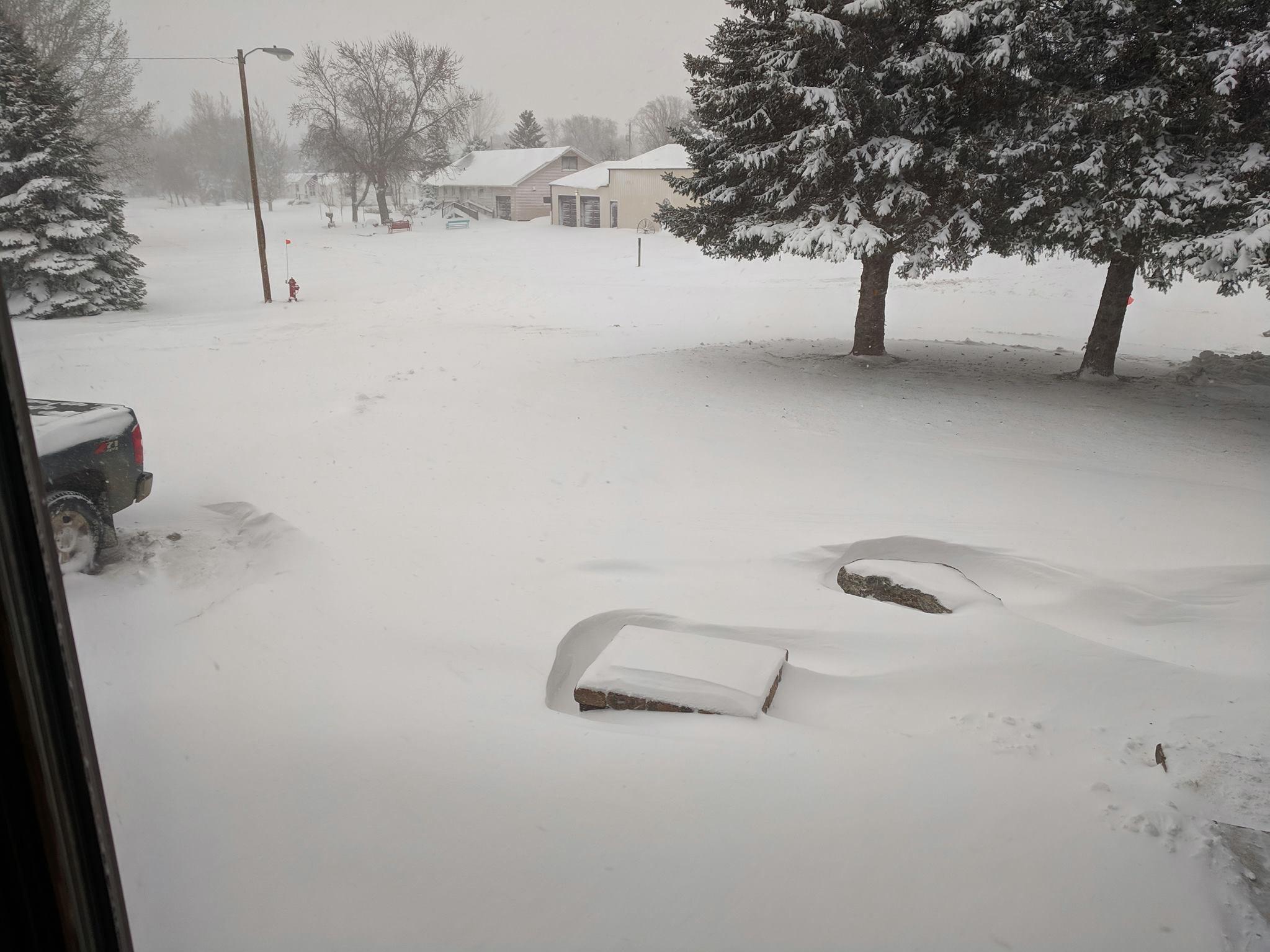Snow in Onida