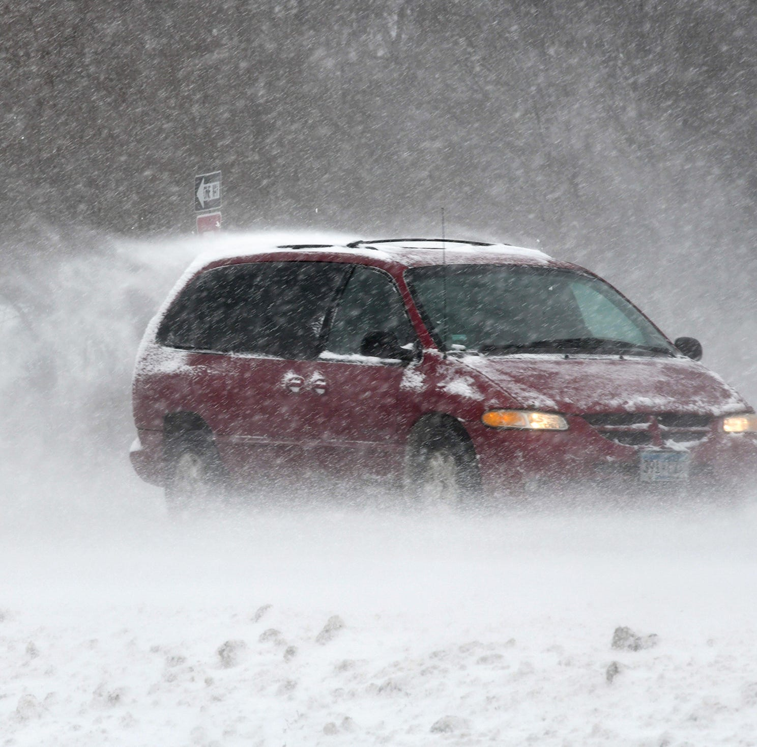 National Weather Service: Dust from Southwest tints Minnesota snow