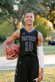 St. John Paul II senior guard Allan Jeanne-Rose was selected to the 2019 All-Big Bend boys basketball first team and chosen as the Player of the Year.