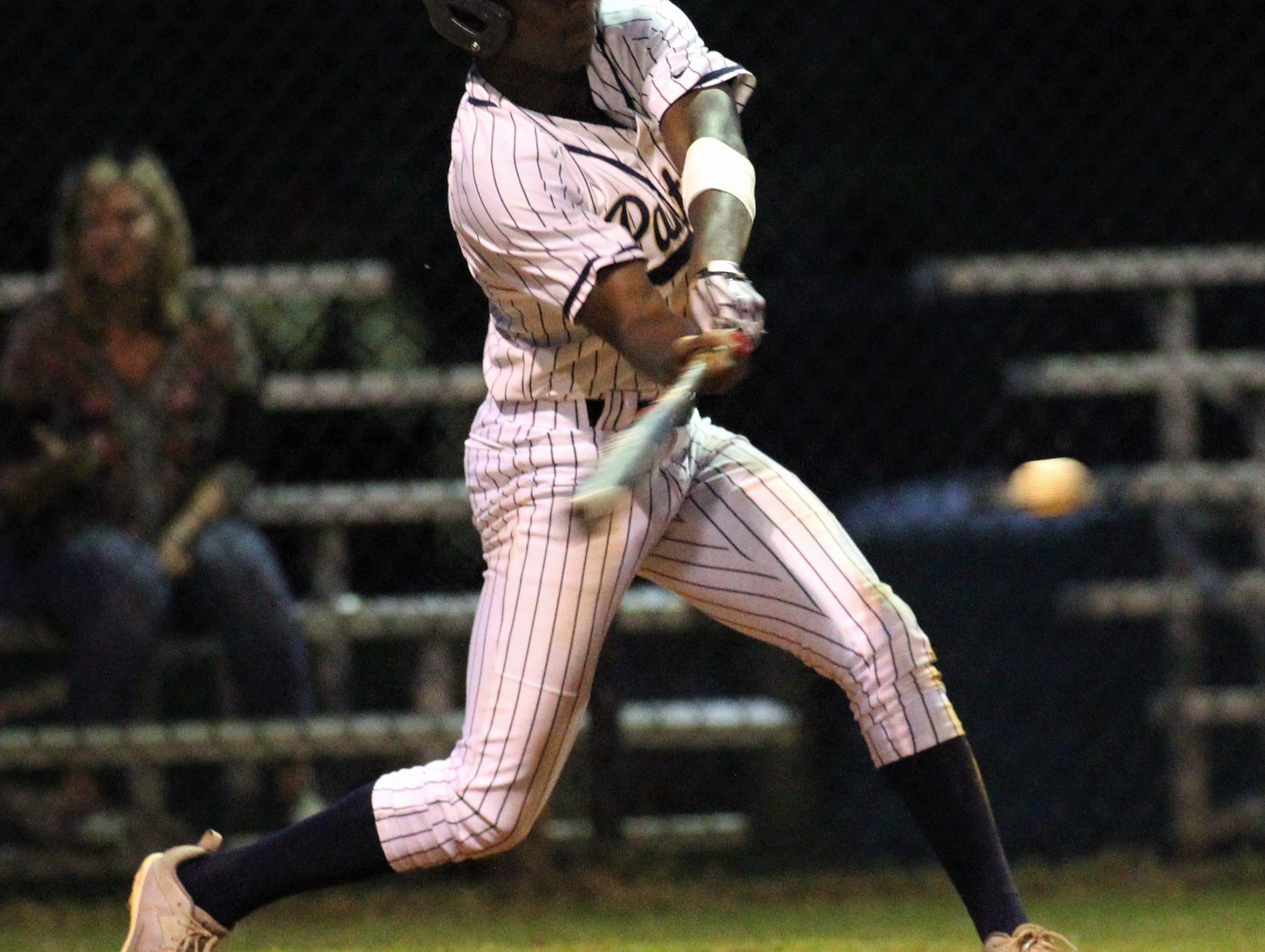 St. John Paul II junior Will Evans bats as Florida High won 11-3 on the road at St. John Paul II on Tuesday, April 3, 2010.