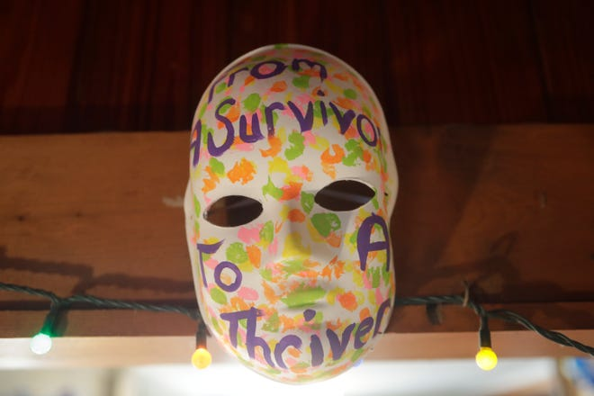 "Last year in April,  the Lake Ella Black Dog Cafe location showcased 118 ""empowerment masks"" created by sexual assault survivors in honor of Sexual Assault Awareness Month. The masks were created by survivors across the state and were gathered by the Florida Council Against Sexual Violence for the display. This year, the Refuge House is taking it's program virtual."