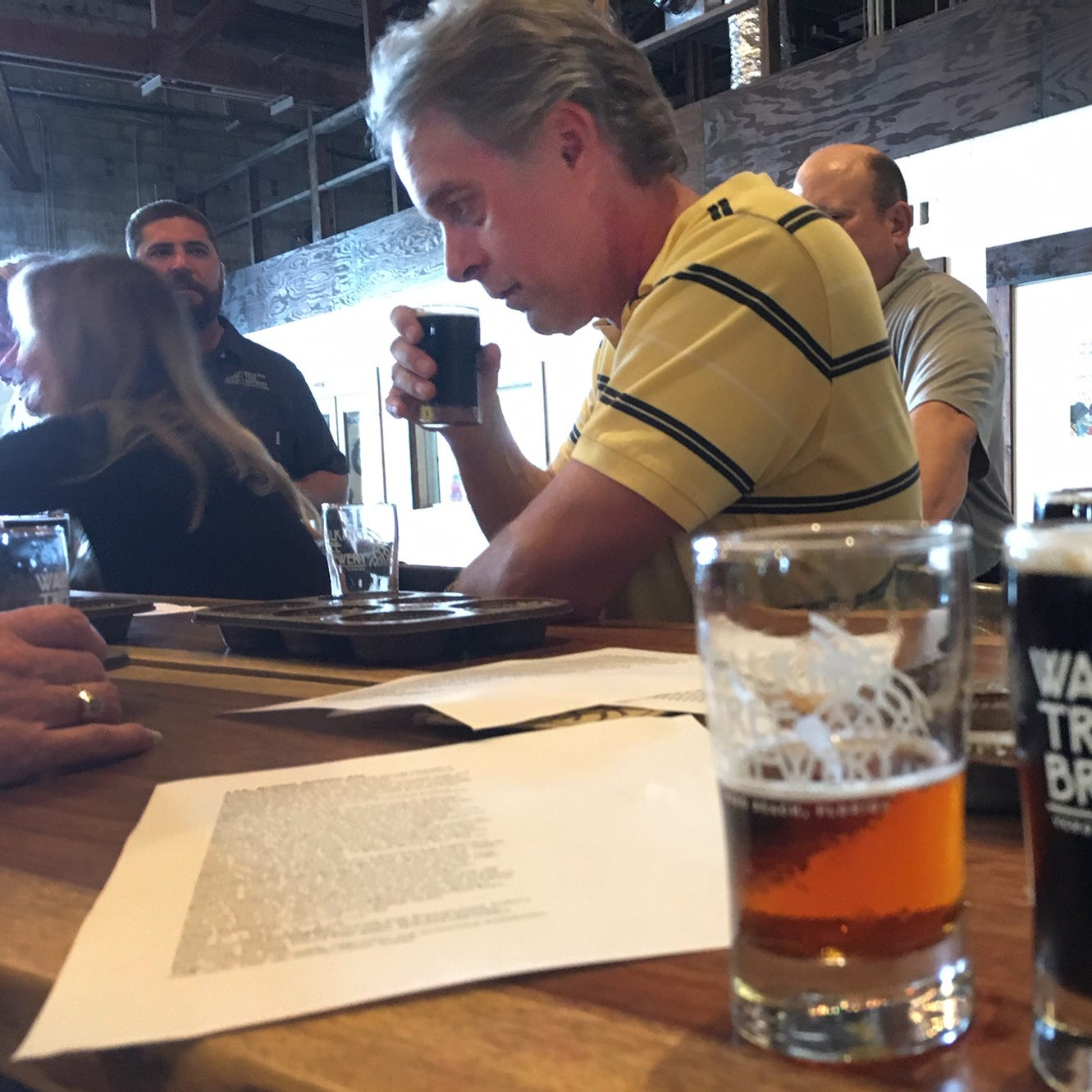 Walking Tree, Press Journal collaborate on naming centennial beer in newspaper's honor