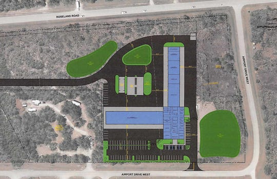 A rendering of a proposed Public Works facility in Sebastian