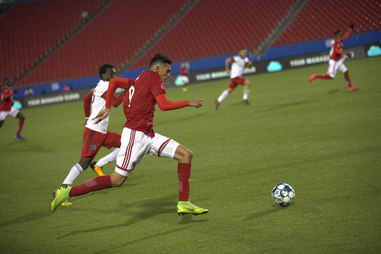 Ricardo Pepi, a 16-year-old El Paso native, scored a hat trick in his debut for North Texas SC, the USL League 1 affiliate of FC Dallas, on Saturday, June 22, 2019.
