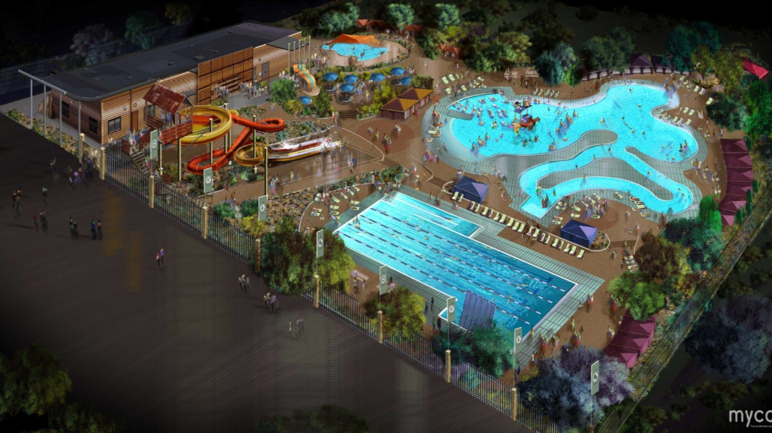 Water Park In Central El Paso Will Have Mayan Theme Lazy River
