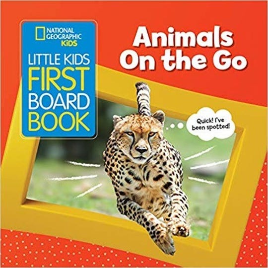 Little Kids First Board Book: Animals on the Go by Ruth A. Musgraves
