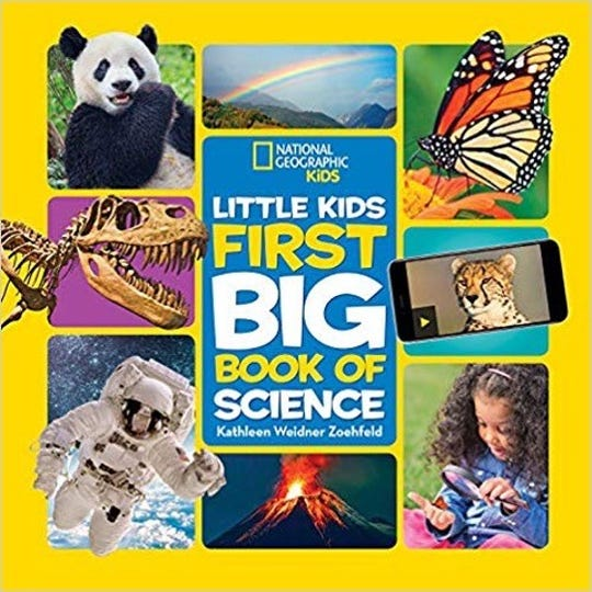 First Big Book of Science by Kathleen Weidner Zoehfield