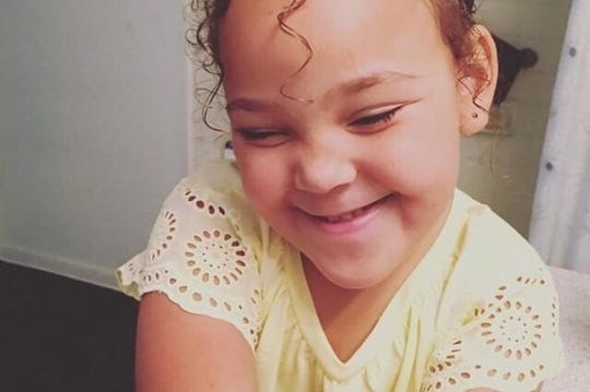 La'Rayah Davis, 5, died on Tuesday in Las Vegas.