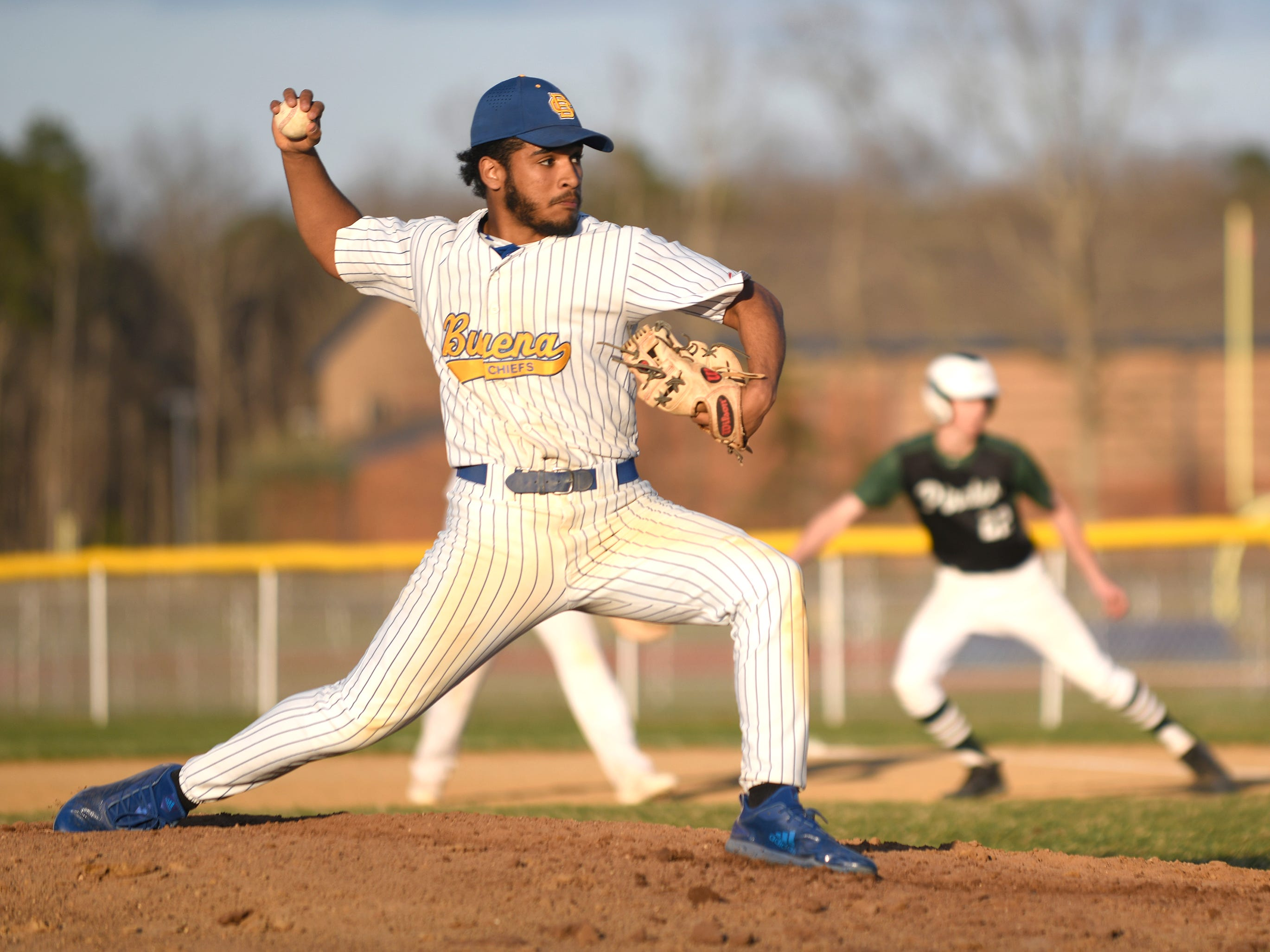 The Buena High School baseball team defeated visiting Cedar Creek 6-5 on Wednesday, April 10, 2019.