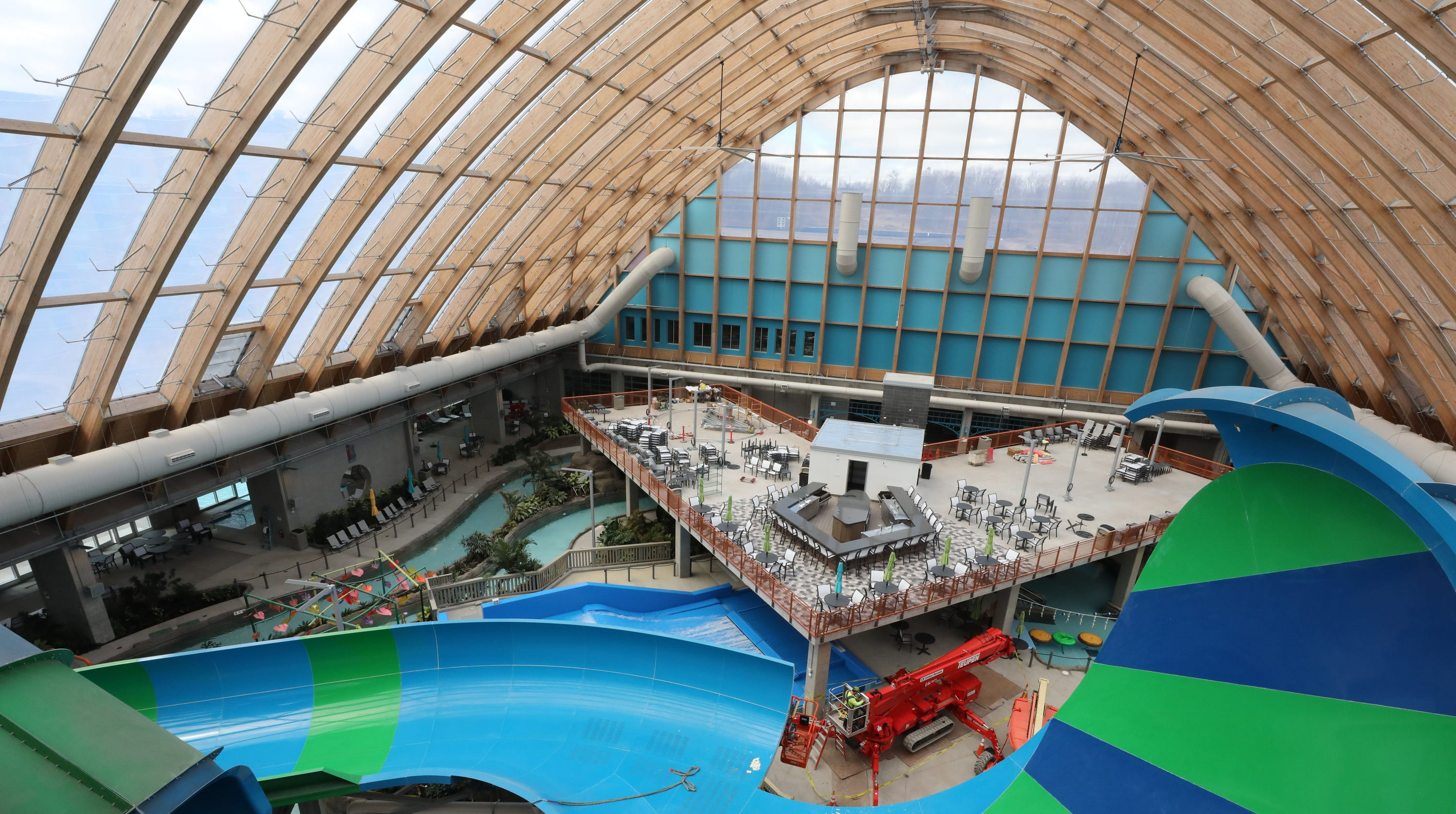 Kartrite waterpark set to open in catskills - Public swimming pools in poughkeepsie ny ...