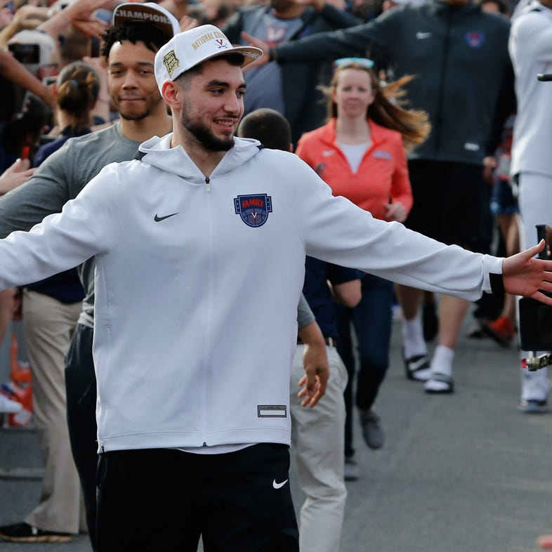 Ty Jerome, New Rochelle native, calls out Mike Francesa on his show after Virginia's win