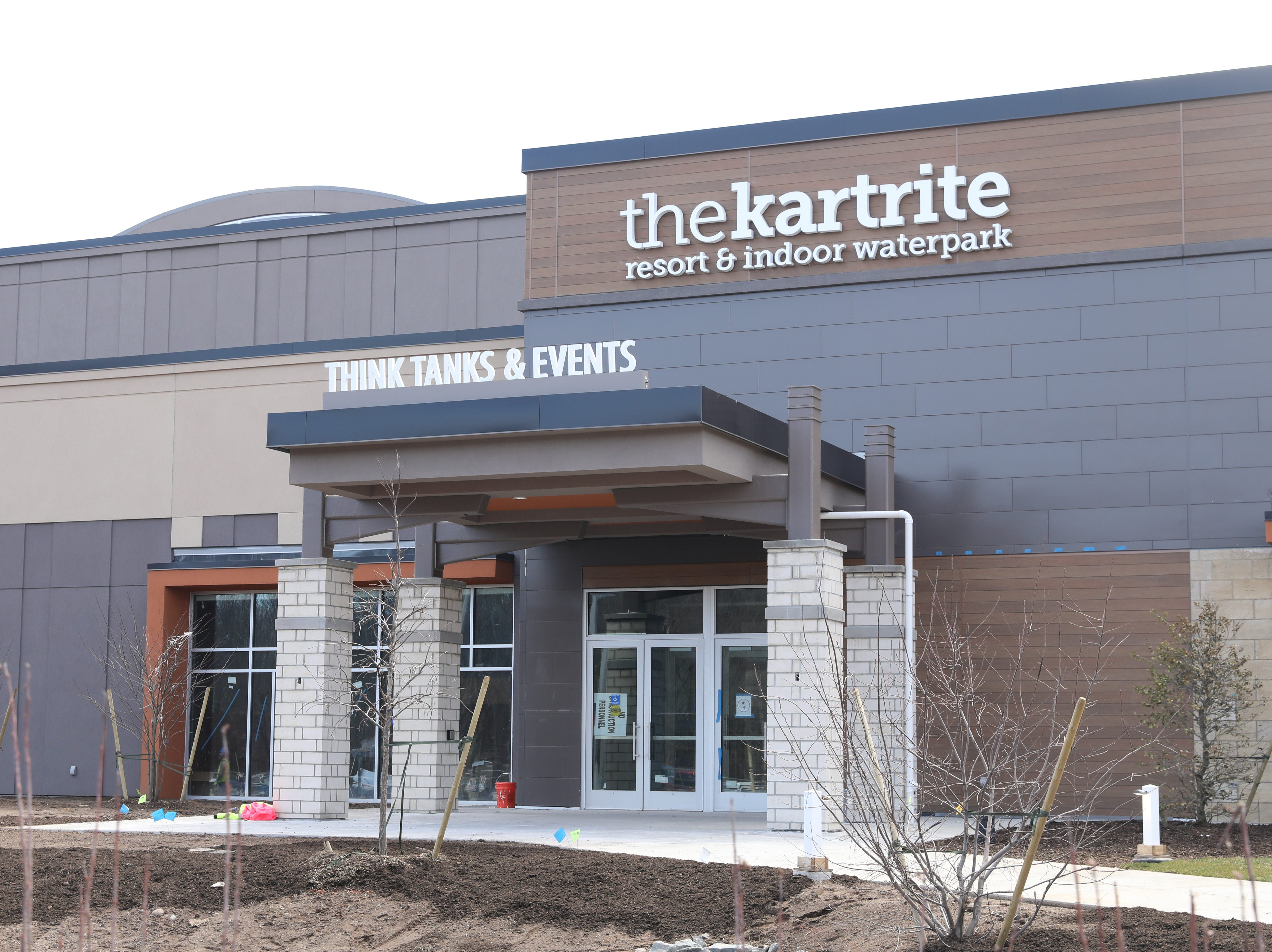 The conference center entrance at The Kartrite Resort & Indoor Waterpark in Monticello, April 10, 2019.