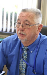 Mount Pleasant Supervisor Carl Fulgenzi talks about the issue of a group home for the developmentally disabled that wants to open in a house on Halsey Place, which is a cul-de-sac in a residential neighborhood. April 10 ,  2019.