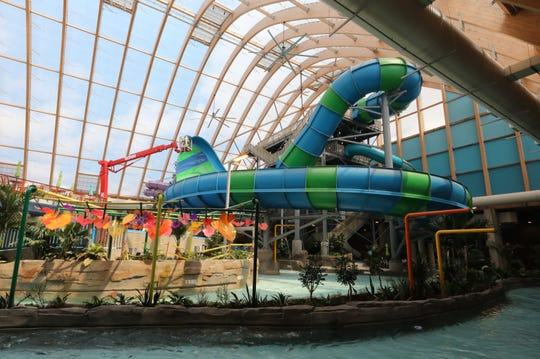 Take an exclusive look inside New York's largest waterpark, opening this week