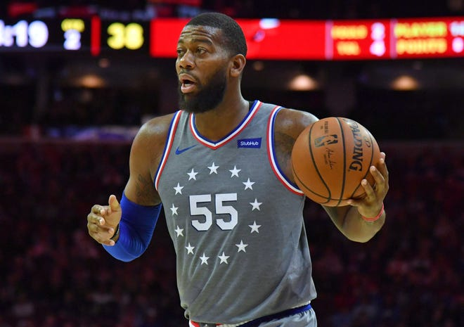 The 76ers' Greg Monroe was part of the trade that brought Eric Bledsoe to Milwaukee.