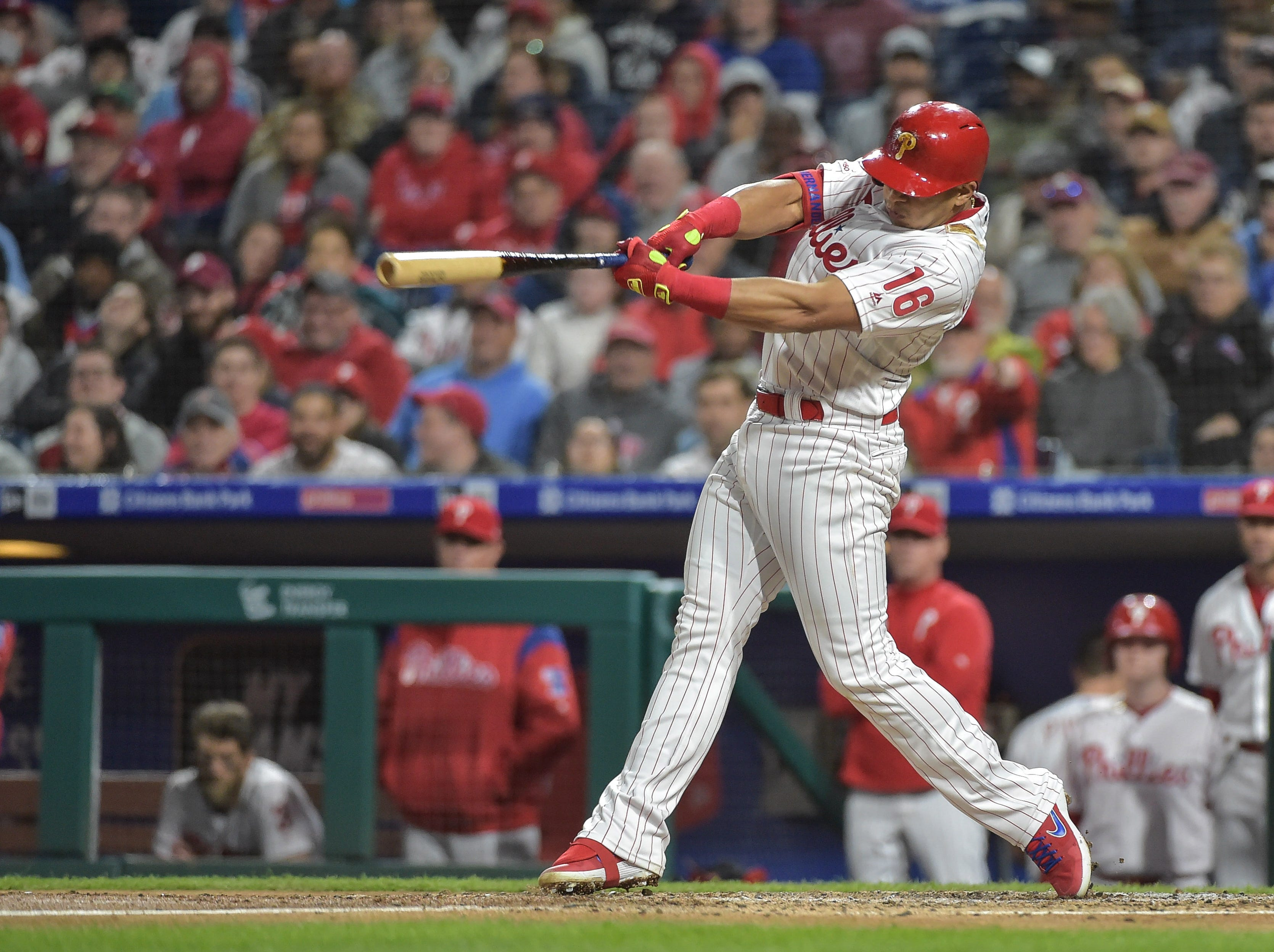 Phillies-Mets lineup announced as Phils go with a new No. 2 hitter