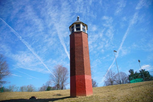 Tower in Greenbank Park: Where it came from