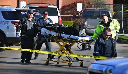 An armed suspect was shot by Wichita Falls Police near the intersection of Martin Luther King Jr. Blvd and Third Street about 8:15 Thursday morning.