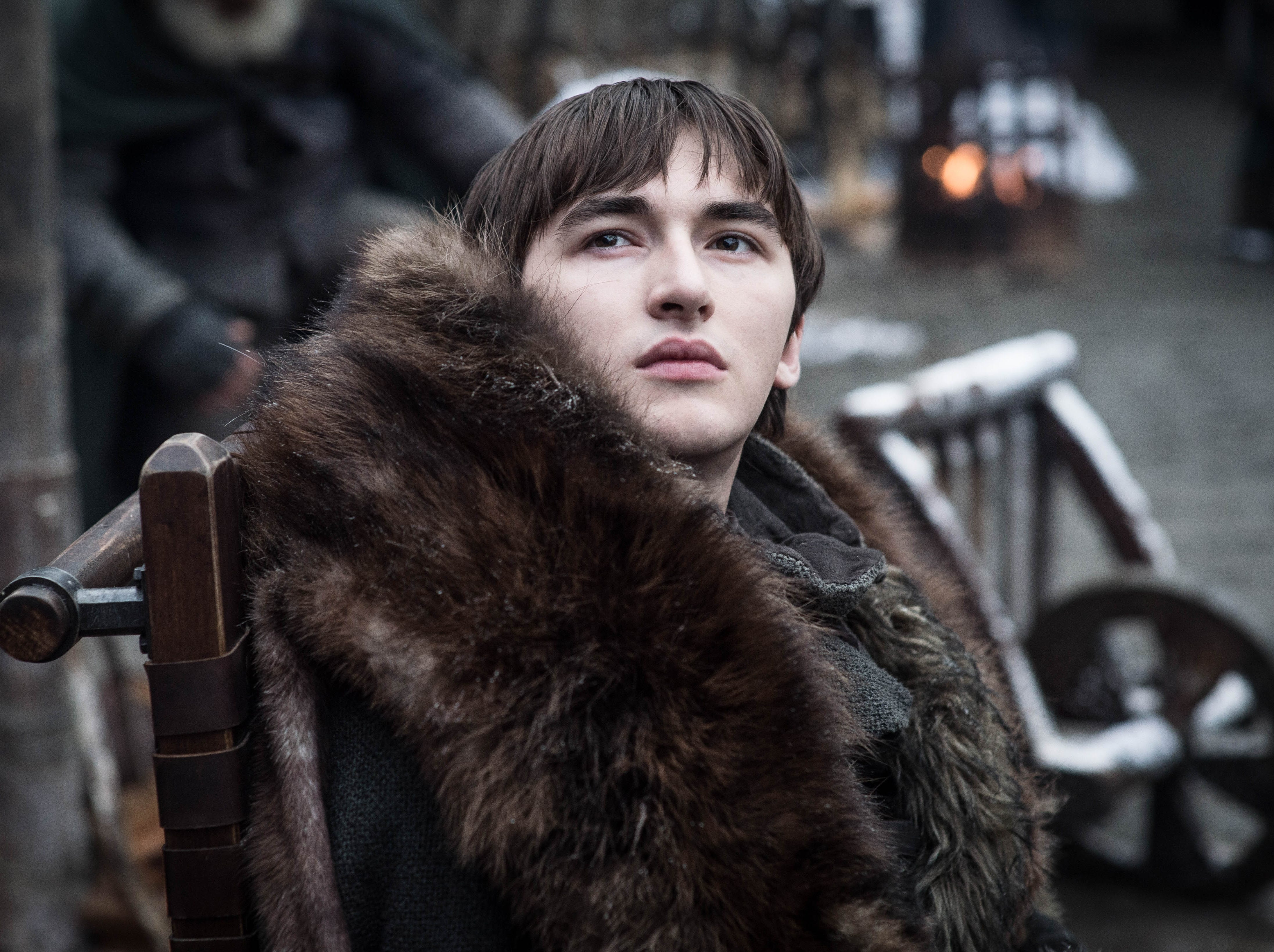 """Isaac Hempstead-Wright as Bran on """"Game of Thrones."""""""