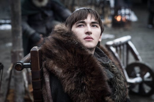Isaac Hempstead-Wright as Bran on