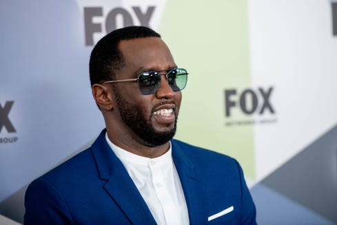 """Sean Combs danced with his daughter to the tune of Herb Alpert's """"Rise."""""""