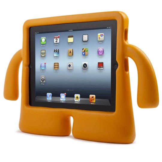 Great for little kids, the Speck iGuy foam case for tablets ($22) protects your investment and stands it up for game time, too.