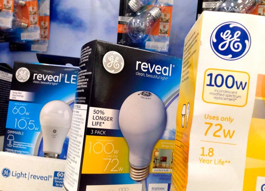Light bulbs for sale.