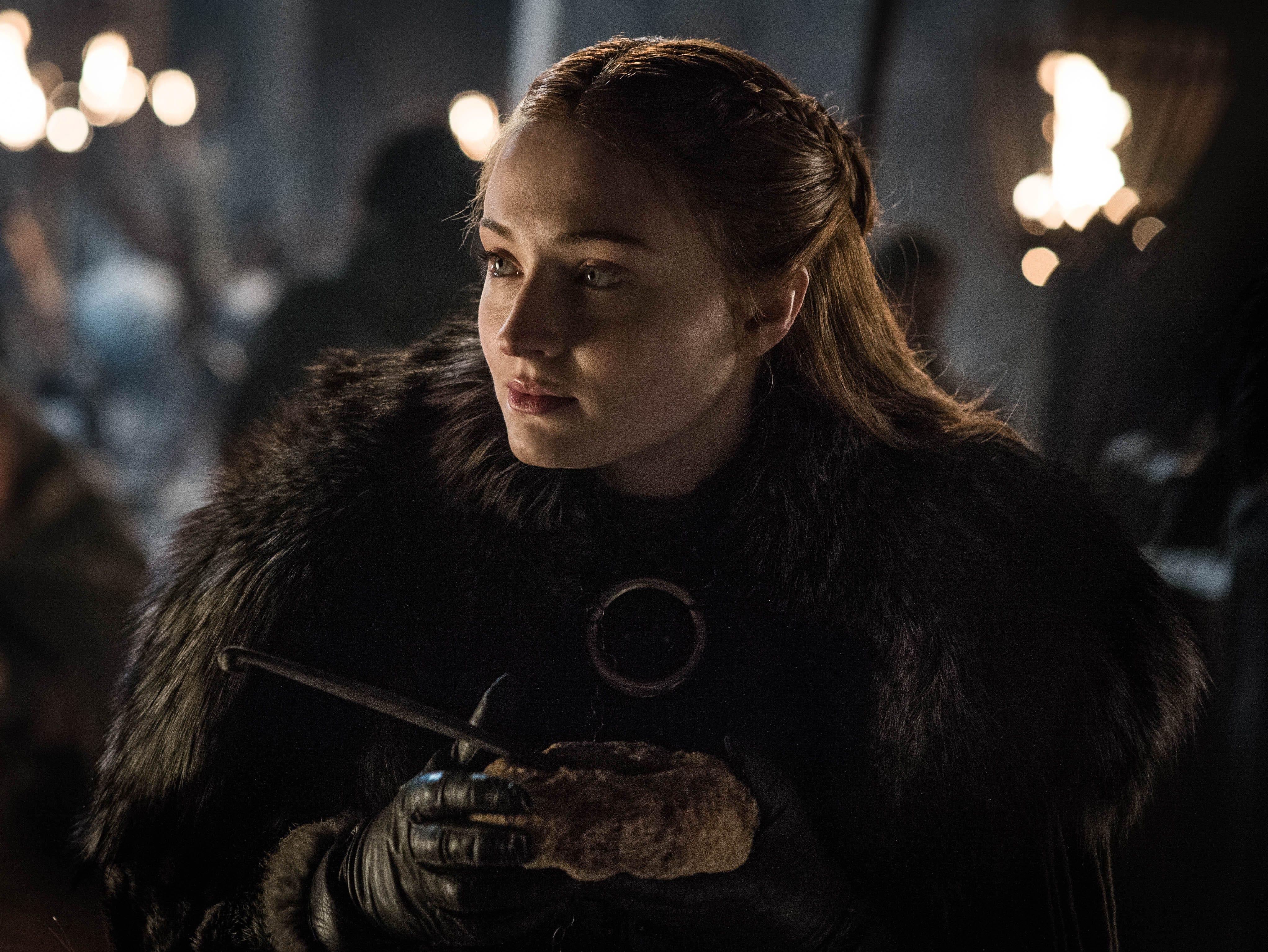 """Sophie Turner as Sansa Stark on """"Game of Thrones."""""""