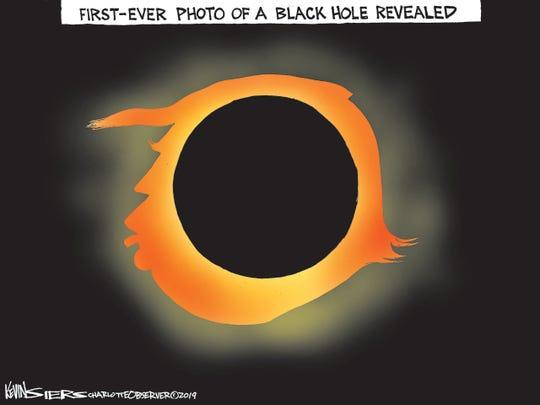 Black hole photo