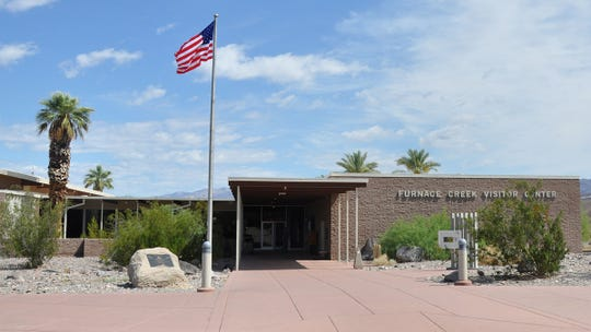Located in Death Valley National Park, the Furnace Creek Visitor Center was built in 1959 by NPS architect Cecil Doty.