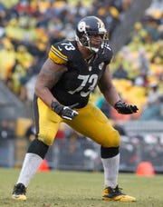 Guard Ramon Foster has played with the Steelers since 2009.