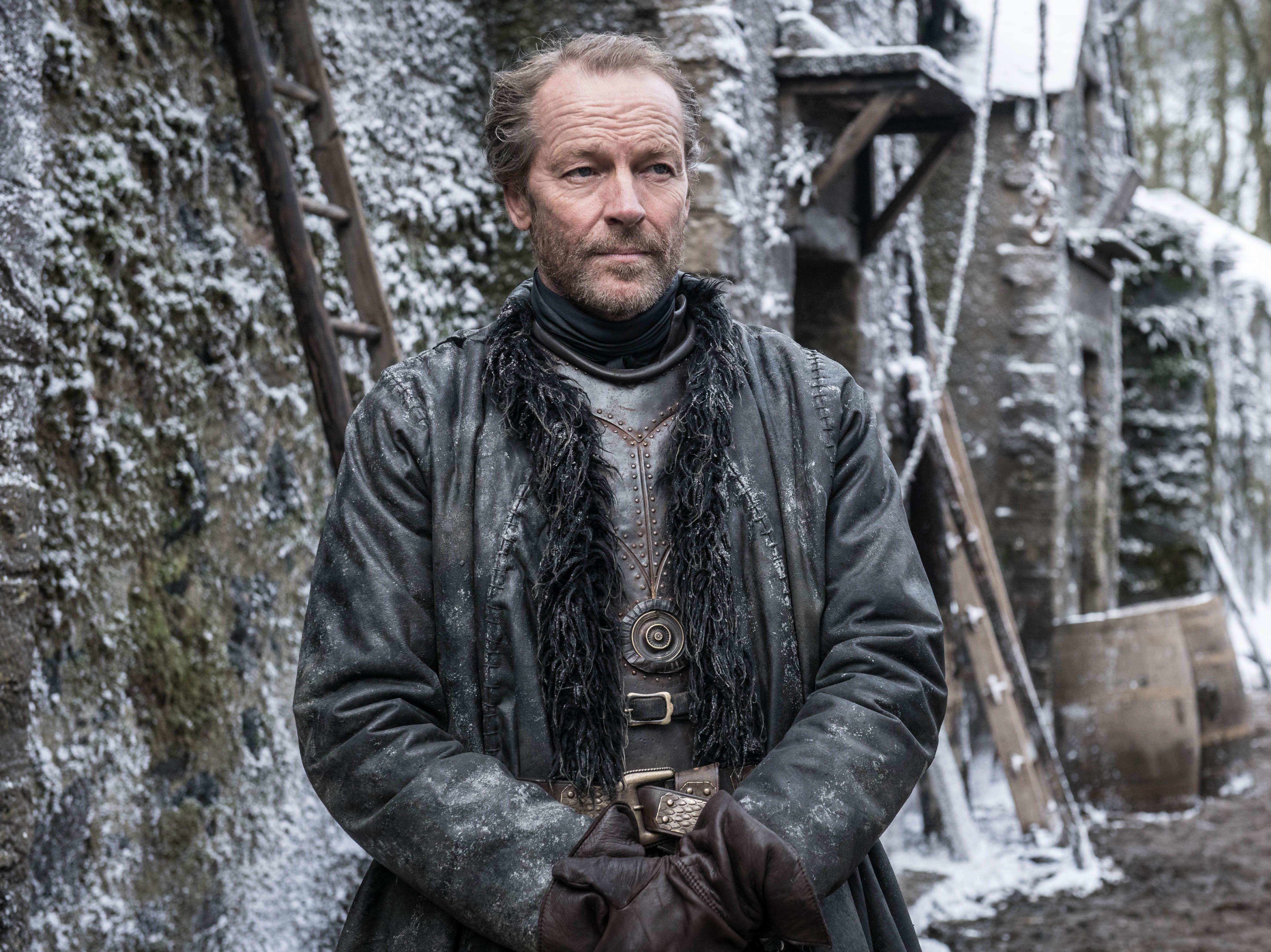 """Iain Glen as Jorah Mormont on """"Game of Thrones."""""""