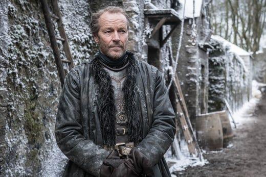 Iain Glen as Jorah Mormont on