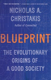 "Cover for ""Blueprint: the Evolutionary Origins of a Good Society"""
